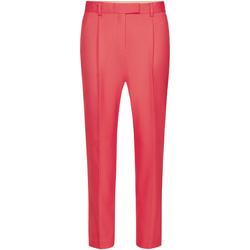 vaatteet Naiset Väljät housut / Haaremihousut Calvin Klein Jeans K20K201764 Vaaleanpunainen