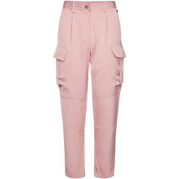 vaatteet Naiset Reisitaskuhousut Calvin Klein Jeans K20K201768 Vaaleanpunainen