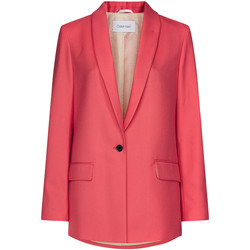 vaatteet Naiset Takit / Bleiserit Calvin Klein Jeans K20K201774 Vaaleanpunainen