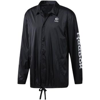 vaatteet Miehet Tuulitakit Reebok Sport DT8205 Musta