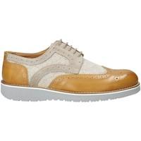 kengät Miehet Derby-kengät Exton 5105 Beige