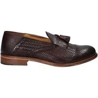 kengät Miehet Mokkasiinit Exton 3105 Ruskea