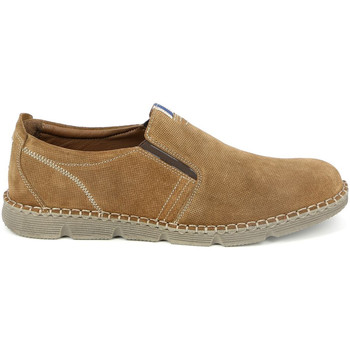 kengät Miehet Mokkasiinit Grunland SC4526 Ruskea