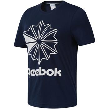 vaatteet Naiset Lyhythihainen t-paita Reebok Sport DT7222 Sininen