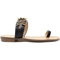kengät Naiset Varvassandaalit Gold&gold A19 GL303 Musta