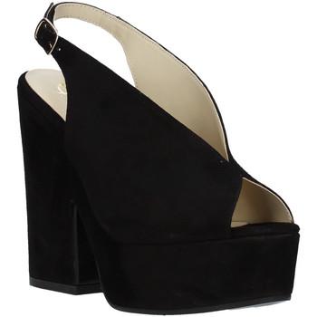 kengät Naiset Sandaalit ja avokkaat Grace Shoes ALBA 107 Musta