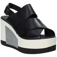 kengät Naiset Sandaalit ja avokkaat Marco Ferretti 660298MF Musta
