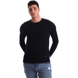 vaatteet Miehet Neulepusero Gaudi 921BU53036 Sininen