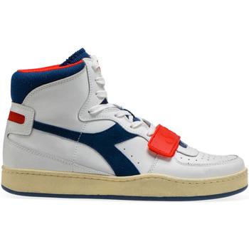 kengät Miehet Korkeavartiset tennarit Diadora 501.174.766 Valkoinen