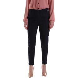vaatteet Naiset Chino-housut / Porkkanahousut Gaudi 921BD25023 Sininen