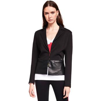 vaatteet Naiset Takit / Bleiserit Gaudi 921BD34001 Musta