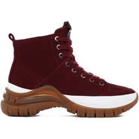 kengät Naiset Nilkkurit Calvin Klein Jeans B4R0763 Punainen