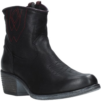 kengät Naiset Nilkkurit Wrangler WL92626A Musta