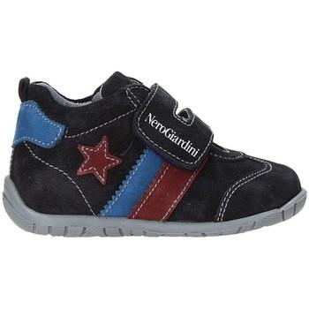 kengät Lapset Matalavartiset tennarit NeroGiardini A919010M Sininen
