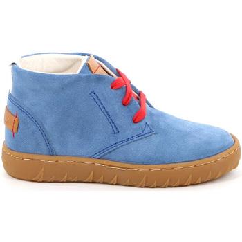 kengät Lapset Korkeavartiset tennarit Grunland PO1471 Sininen