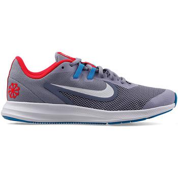 kengät Lapset Matalavartiset tennarit Nike CJ7234 Harmaa
