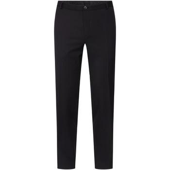 vaatteet Miehet Chino-housut / Porkkanahousut Calvin Klein Jeans K10K104812 Musta
