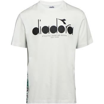 vaatteet Miehet Lyhythihainen t-paita Diadora 502176630 Beige