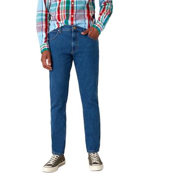 vaatteet Miehet Slim-farkut Wrangler W18SHR36B Sininen
