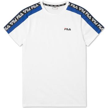 vaatteet Miehet Lyhythihainen t-paita Fila 687700 Valkoinen