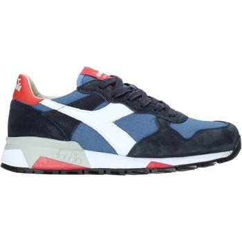 kengät Miehet Matalavartiset tennarit Diadora 201176281 Sininen