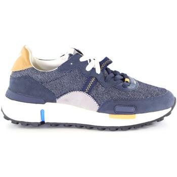 kengät Miehet Matalavartiset tennarit Wrangler WM01123A Sininen