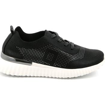 kengät Naiset Matalavartiset tennarit Grunland SC4905 Musta