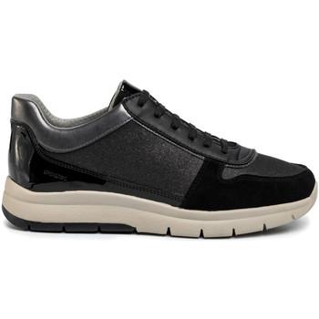 kengät Naiset Matalavartiset tennarit Geox D029GB 0EWHH Musta