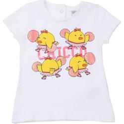 vaatteet Lapset Lyhythihainen t-paita Chicco 09006955000000 Valkoinen