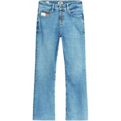 vaatteet Naiset Bootcut-farkut Tommy Jeans DW0DW08134 Sininen