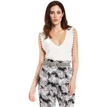 vaatteet Naiset Topit / Puserot Gaudi 011FD64008 Valkoinen