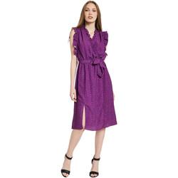 vaatteet Naiset Pitkä mekko Gaudi 011BD15004 Violetti