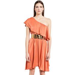 vaatteet Naiset Lyhyt mekko Denny Rose 011ND15020 Oranssi