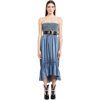 vaatteet Naiset Pitkä mekko Denny Rose 011ND16002 Sininen