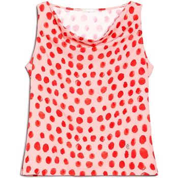 vaatteet Naiset Topit / Puserot NeroGiardini E062810D Vaaleanpunainen