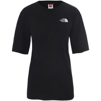 vaatteet Naiset Lyhythihainen t-paita The North Face NF0A4CESJK31 Musta