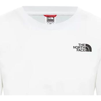 vaatteet Naiset Lyhythihainen t-paita The North Face NF0A4CESFN41 Valkoinen