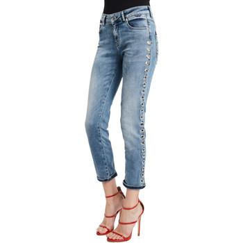 vaatteet Naiset Slim-farkut Denny Rose 011ND26009 Sininen