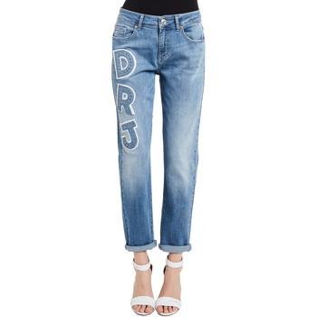 vaatteet Naiset Farkut Denny Rose 011ND26013 Sininen