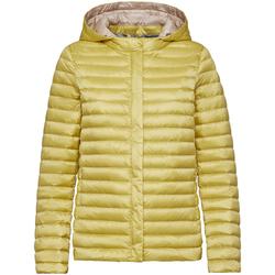 vaatteet Naiset Toppatakki Geox W0225A T2412 Keltainen