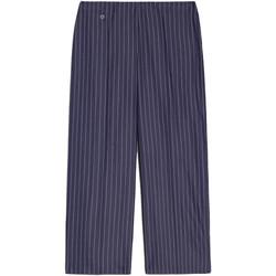 vaatteet Naiset Caprihousut NeroGiardini E060151D Sininen
