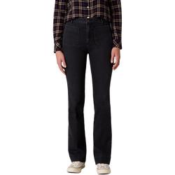 vaatteet Naiset Bootcut-farkut Wrangler W233JK45A Musta