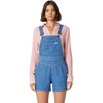 vaatteet Naiset Jumpsuits / Haalarit Wrangler W22FJS72L Sininen