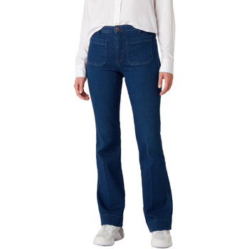 vaatteet Naiset Farkut Wrangler W233JN69F Sininen