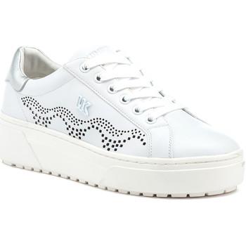kengät Naiset Matalavartiset tennarit Lumberjack SW68012 003 B56 Valkoinen