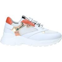 kengät Lapset Matalavartiset tennarit NeroGiardini E031431F Valkoinen