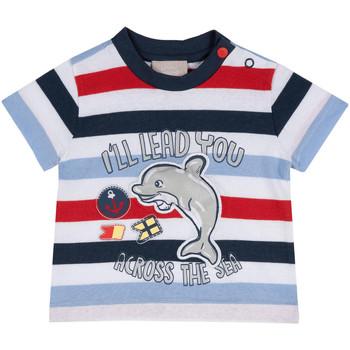 vaatteet Lapset Lyhythihainen t-paita Chicco 09006876000000 Sininen