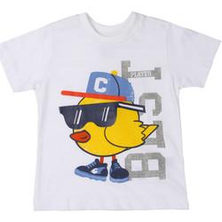 vaatteet Lapset Lyhythihainen t-paita Chicco 09006918000000 Valkoinen