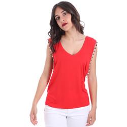 vaatteet Naiset Topit / Puserot Gaudi 011FD64008 Punainen