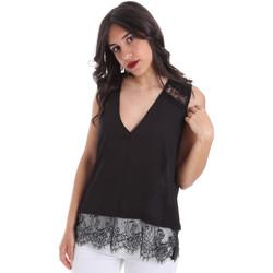 vaatteet Naiset Topit / Puserot Gaudi 011FD45055 Musta